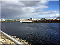 NH6646 : River Ness, Inverness by David Dixon