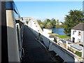 N0341 : Approaching the Shannon bridge in Athlone by Gareth James