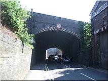 SO8555 : Railway bridge over Tolladine Road, Worcester by JThomas