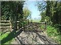 SO9656 : Field entrance, Grafton Flyford by JThomas