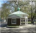 TQ3082 : Coram's Field Playground Memorial Pavilion by Julian Osley