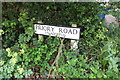 TM4289 : Priory Road sign by Adrian Cable