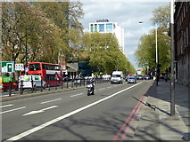 TQ2982 : A sunny afternoon in Euston Road by John Lucas