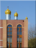 SO9097 : Sikh temple (detail) in Wolverhampton by Roger  Kidd