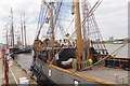 TQ4479 : Tall Ships Regatta, Woolwich Royal Arsenal Pier by Stephen McKay