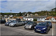 SY2289 : Beer seen from the main public car park by Michael Garlick