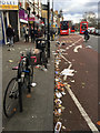 """TQ3276 : """"Hey Doris! You've dropped some litter"""" – west side of Denmark Hill, Camberwell, London by Robin Stott"""