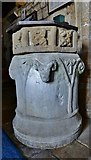 """SY5697 : Toller Porcorum, Ss. Andrew and Peter Church: The rare """"double"""" font by Michael Garlick"""