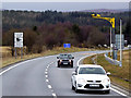 NN7369 : Average Speed Checks on the A9 by David Dixon