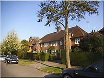TQ2688 : Meadway, Hampstead Garden Suburb by David Howard