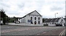 J2053 : Banbridge Road Presbyterian Church and Sabbath Schoolroom, Dromore by Eric Jones