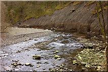 NY2824 : River Greta bridge near Briery by Robert Eva