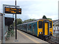 SH7956 : Arriva train at Betws y coed railway station by Gary Rogers
