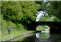 SJ9319 : Roseford Bridge north of Acton Trussell, Staffordshire by Roger  Kidd