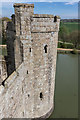 TQ7825 : From Inside Bodiam Castle, East Sussex by Christine Matthews