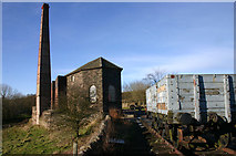 SK2755 : Middleton top Engine House by Malcolm Neal