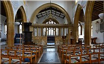ST6601 : Cerne Abbas, St. Mary's Church: Mid c15th nave by Michael Garlick