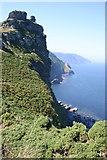 SS7049 : Coastal Cliffs by Malcolm Neal