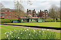 NX9775 : Bowling Green Dock Park, Dumfries by Billy McCrorie