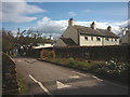 NY4930 : Car park entrance, Newton Rigg College by Karl and Ali
