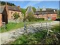 SO7239 : Upper Mitchell Farm, near Ledbury by Philip Halling