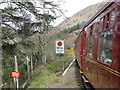 NM8981 : Looking west from Glenfinnan Station by M J Richardson