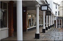 TQ5838 : Colonnade, The Pantiles by N Chadwick