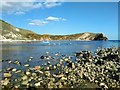 SY8279 : Lulworth Cove by PAUL FARMER