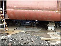 NS3274 : Hull 802 at Ferguson Marine Shipyard by Thomas Nugent