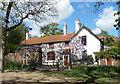 TQ2786 : Wisteria on a House, Millfield Lane by Des Blenkinsopp