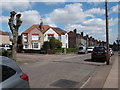 SP3383 : Junction of Dymond Road and Butlin Road by Niki Walton