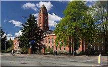 SJ8195 : Trafford Town Hall by Peter McDermott
