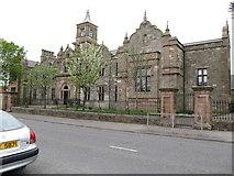 J4873 : Newtownards Model Primary School on Scrabo Road by Eric Jones