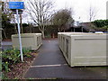 ST7082 : Secure bicycle storage near Yate railway station by Jaggery