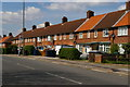 TQ2091 : Burnt Oak: houses on Deansbrook Road by Christopher Hilton