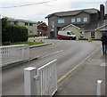 SS9079 : Entrance to Bridgend College, Bridgend by Jaggery