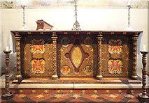 TR0149 : St Cosmas & St Damian, Challock - Altar by John Salmon