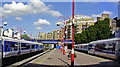 TQ2782 : Marylebone station, new platforms 2006 by Ben Brooksbank