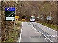 NH5734 : Northbound A82 near Abriachan by David Dixon