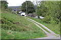SO2413 : Driveway to house, Twyn Wenallt by M J Roscoe