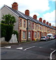 ST1268 : Quarella Street speed bumps, Barry by Jaggery