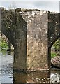 SD7039 : Cromwell's Bridge, River Hodder by Nick Harling