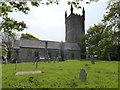SW5033 : Ludgvan Church by David Medcalf