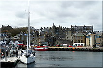 HU4741 : Lerwick harbour front from Victoria Pier by Mike Pennington