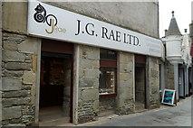 HU4741 : J. G. Rae Ltd, Commercial Street, Lerwick by Mike Pennington