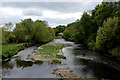 SE4345 : The River Wharfe from Thorp Arch Bridge looking Downstream by Chris Heaton