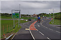 SD4764 : Heysham to M6 link road junction by Ian Taylor