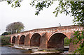 NY3768 : Longtown Bridge - April 2017 (2) by The Carlisle Kid