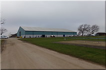 TL1495 : Main Arena at the East of England Showground by Adrian Cable