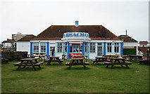 TQ2704 : Cafe, Hove Lagoon by Julian Osley